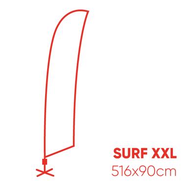 Fly surf XXL