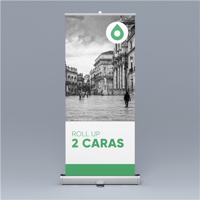 Roll up - 2 Caras